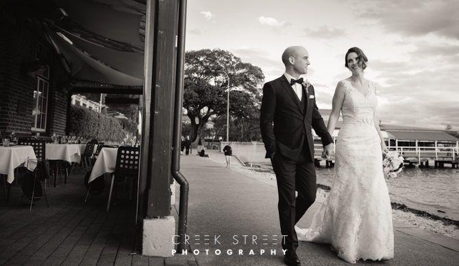 wedding photos from Watsons Bay #weddingphotos #brideandgroom
