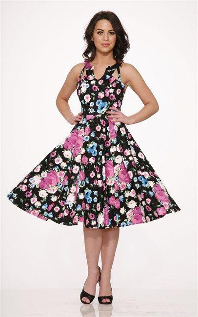 Ozsale - Night Beauty Dress Multi Color