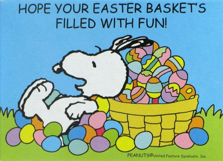 snoopy easter wallpaper - photo #8