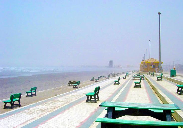 Sea View, Karachi, Pakistan !