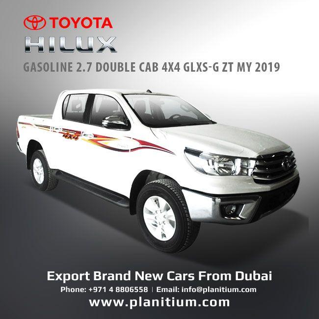 2019 Hilux 2 7 Gasoline Man Double Cab 4x4 Glxs G Pickups Toyota