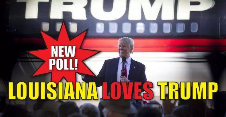 BREAKING : New Poll Trump DESTROYING Crooked Hillary in LOUISIANA (9/23/16)