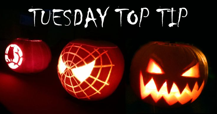 This week we give you a spooky Tuesday Top Tip: How To Carve A Pumpkin