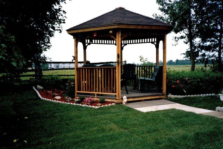 75 Best Images About Cedarshed Gazebo Kits On Pinterest