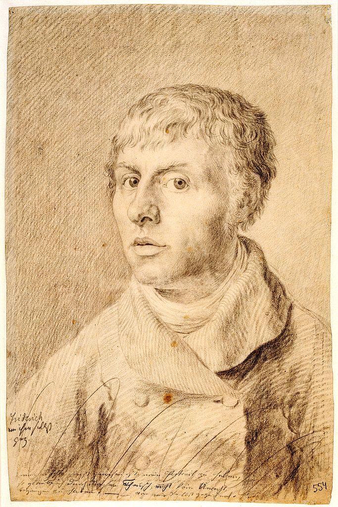 Portrait of Caspar David Friedrich