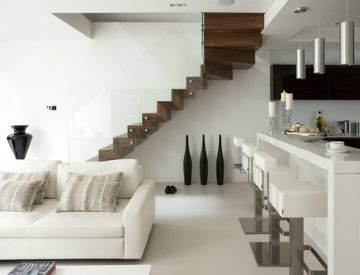 Cantilevered Stairs: Could This Be the Future of Staircases?   Horner Millwork Blog