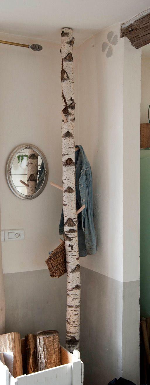 DomUnic - La Nature dans la maison ! Simple, élégant et original, ce genre de porte-manteaux prend très peu de place.