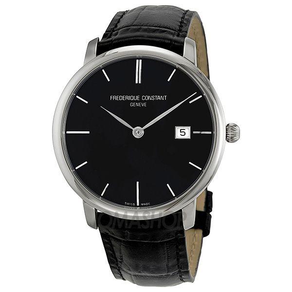 Frederique Constant Slim Line Black Dial Automatic Mens Watch FC-306G4S6 $1,202.50
