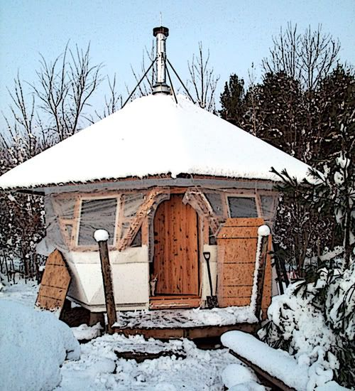50 best images about yurt on pinterest toilets shelters for Building a cabin in alaska