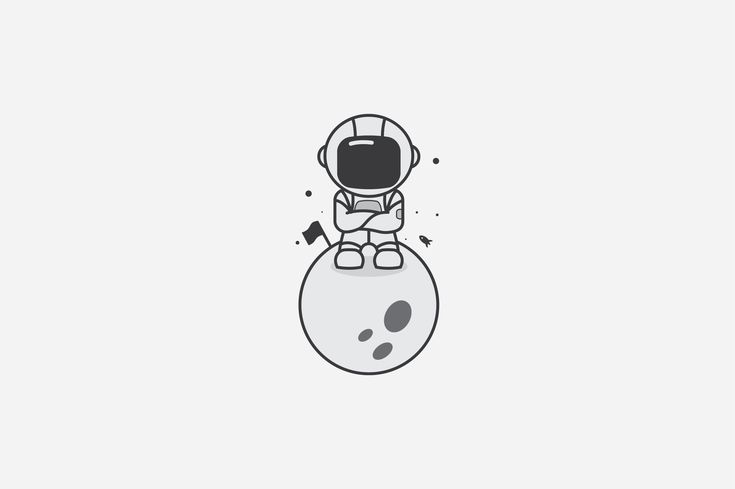 Astronaut  by lineandcircle on @creativemarket