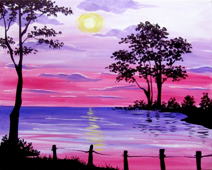 334 Best Images About Beach Summer Canvas Painting On
