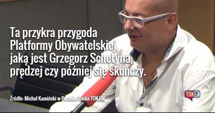 Michał Kamiński ostro o Grzegorzu Schetynie @platformaobywatelska #TOKFM #radio #polityka #Polska #sejm #poranek #radiotokfm #PO #Platforma #PlatformaObywatelska #TOKFM