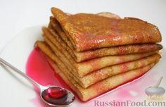 Рецепт: Блины классические на RussianFood.com