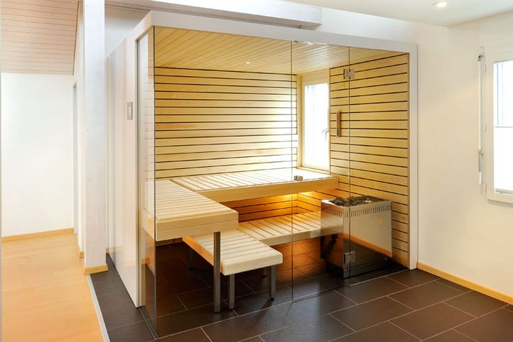 KÜNG AG Saunabau, Wädenswil, Switzerland: Glasfront