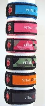2x Child Id Bracelet Medic Special Needs Autism Disability Safety Medical Band