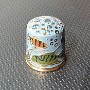 "Collectible thimble handmade ""Fish"""