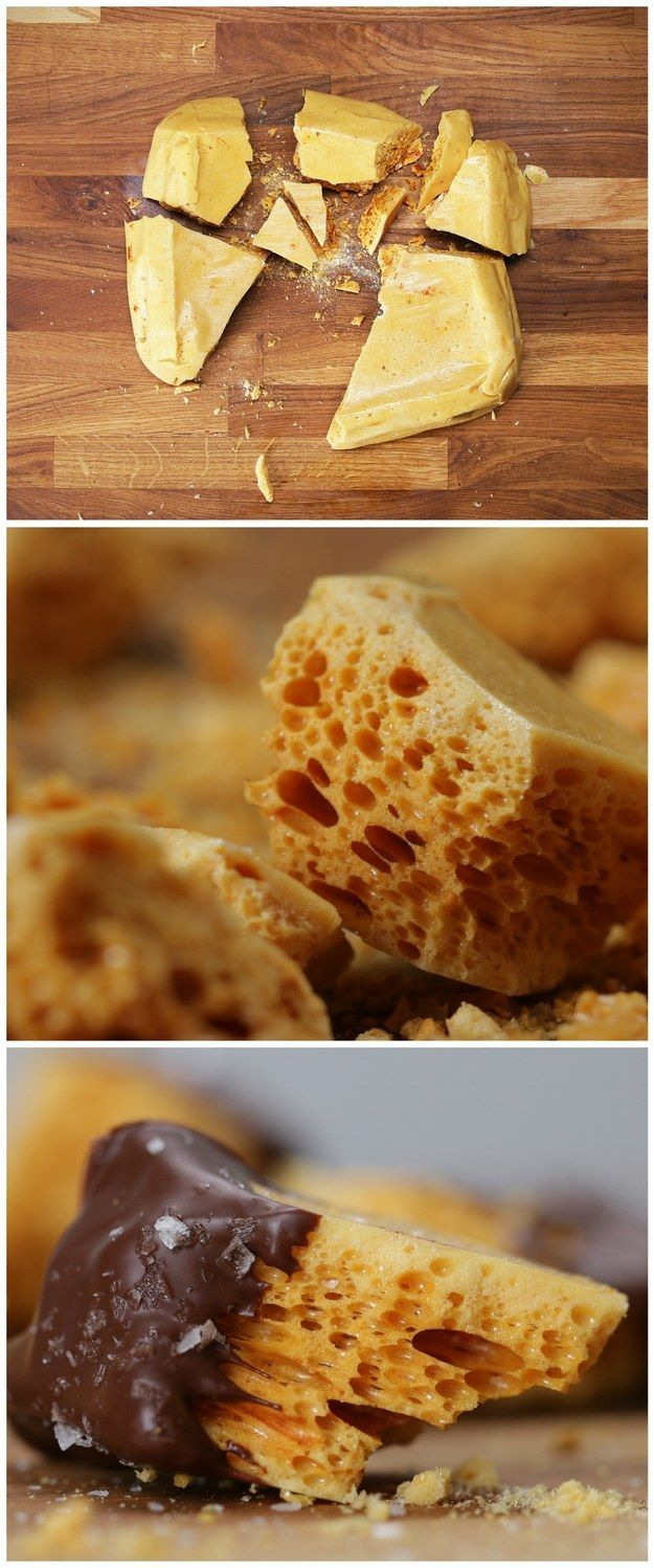 Honeycomb Toffee | This Satisfying Recipe Video For Honeycomb Toffee Is Totally Cooking Goals