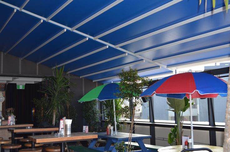 Retractable roof Sydney. This is external awning in Sydney is custom designed and fully automated