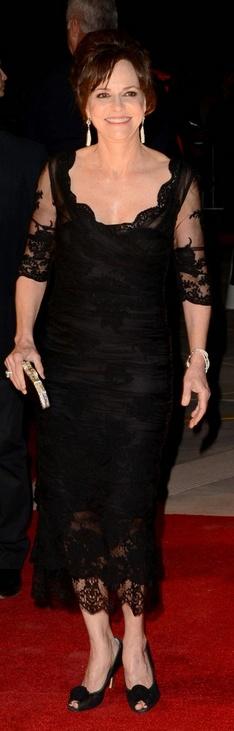 Sally Field in Dolce & Gabbana