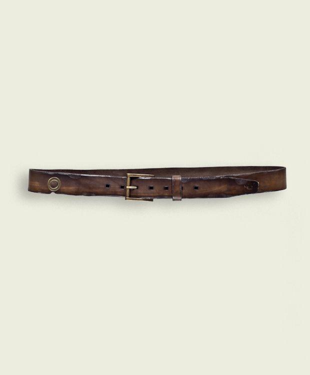 Iwo Jima - Dark Brown  Belt High 3,5 cm  100% Made in Italy - Verona  Certified Original Italian Product  Real Leather  Handmade  Vintage Aviation Department   £51