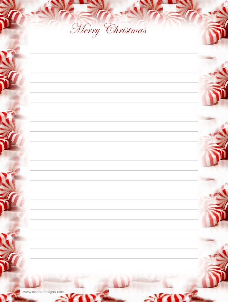 Lined Stationery #2