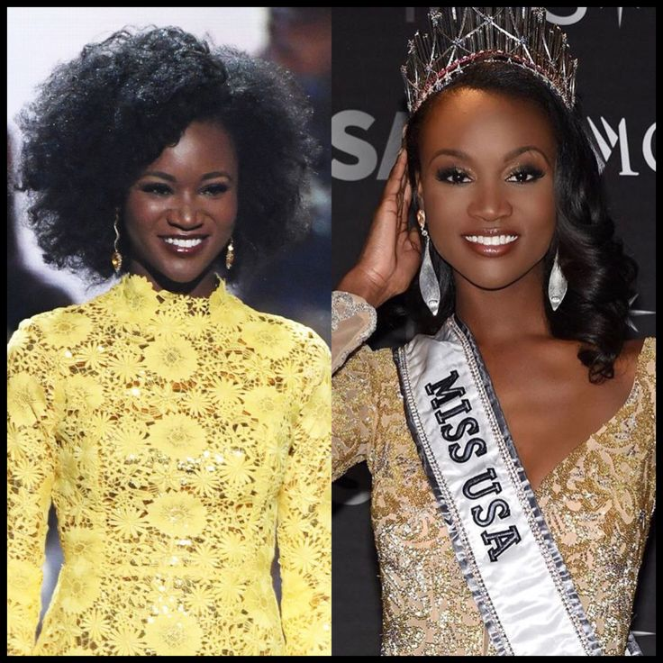 """Miss USA: """"I had to Deal with Colorism Internationally."""" Check out #DDSmagazine to read about former Miss USA 2016 talk about colorism, natural hair, etc."""