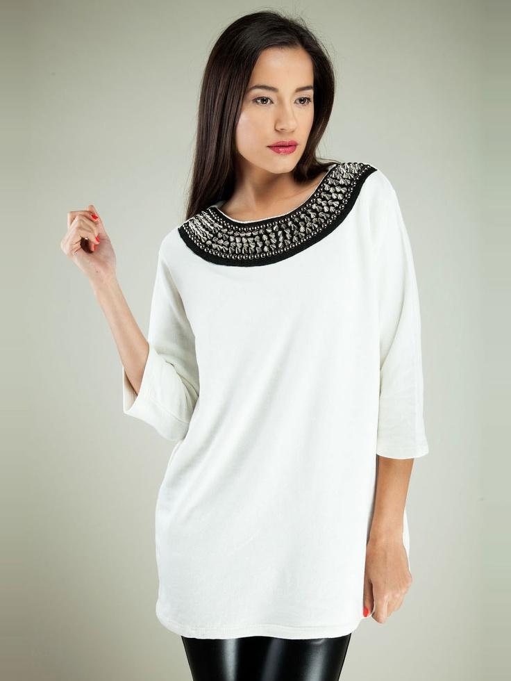 Nádherná a stylová bílá...  Lisa Moretti na www.bigbrands.cz/vip/