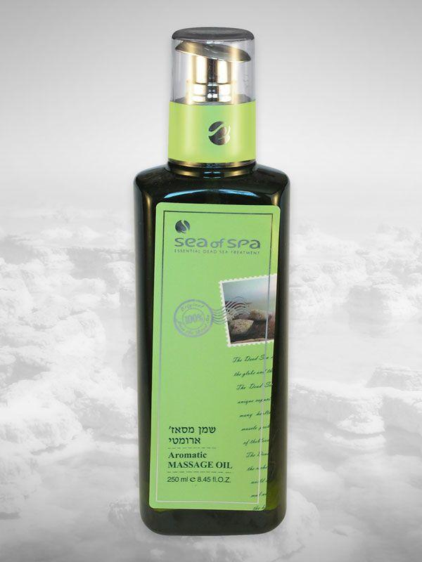 Aromatyczny olejek do masażu ciała. Wanilia. 250 ml. Aromatyczny olejek do masażu ciała wzbogacony w 27 aktywnych minerałów z Morza Martwego, witaminy A, C i E, czysty olej migdałowy i czyste olejki aromatyczne, tworzące unikalną formułę, która odżywia skórę szybko i skutecznie. Olejek ma delikatną fakturę i porywający zapach, który zapewnia przyjemne doświadczenie, szybko się wchłania, pobudza zmysły i idelanie relaksuje. Pozostawia skórę jedwabistą, przejrzystą i promienną w dotyku.