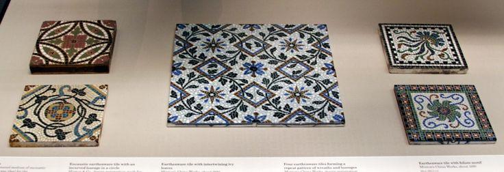 Мозаичная плитка, ближний Восток, XIX век