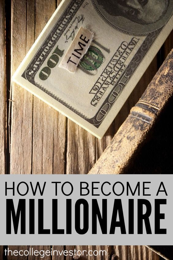 We're celebrating Millionaire's today and what better way to do that than by laying out a path on how to become a millionaire. Come see what you need to do to meet that million dollar mark! http://thecollegeinvestor.com/16418/how-to-become-a-millionaire/