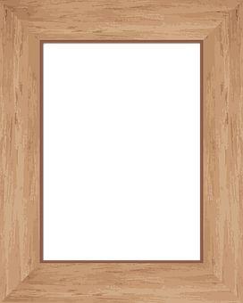 Rám, Obrázek, Dřevo, Hnědá, Opálení