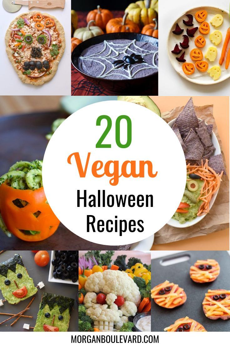 20 Vegan Halloween Recipes Perfect For Your Halloween Party Morgan Boulevard In 2020 Vegan Halloween Food Halloween Food Dinner Vegan Recipes Healthy