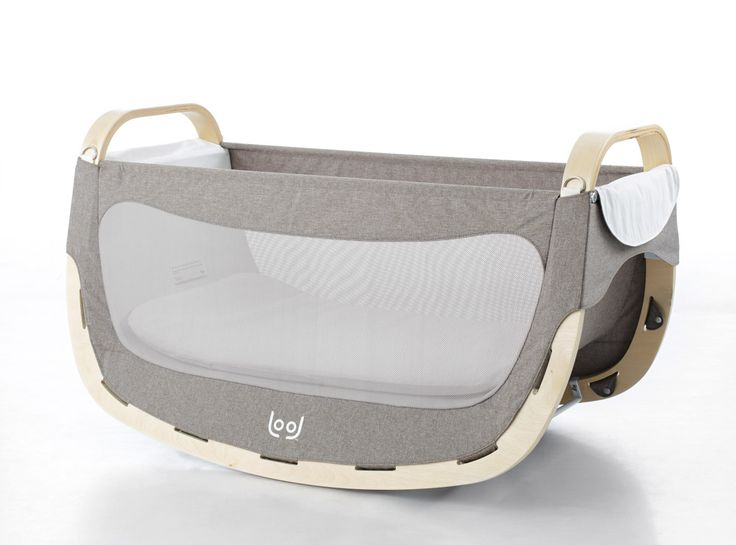 ROCKING CRADLE  Lift-off the cradle and turn LOOL into the perfect snoozing device. Allows front-to-back movement recommended by therapists and simulates the baby's movements in the mother's womb. #babycradle #rockingcradle #baby #babyproducts