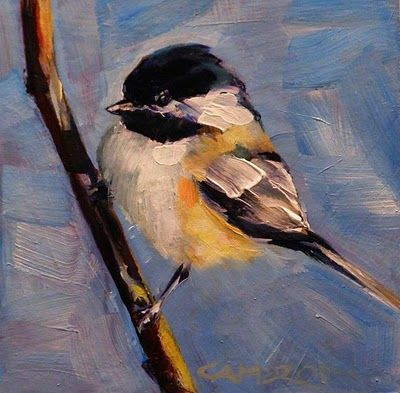 """My Little Chickadee"" by Brian Cameron"