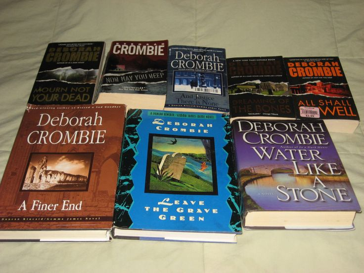 Deborah Crombie, Lot of 8 Books, c1994 +, Vintage, Duncan Kincaid, Gemma James, Mystery, England, 3 Hardcover, 5 Paperback, Nice, Read! by BlueSkyTeaCups on Etsy