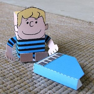 Schroeder printable paper toys. Not relevant, but i would make like 80 zillion.
