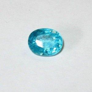 Batu Permata Apatite Oval Cut 1.40 carat Bluish Green