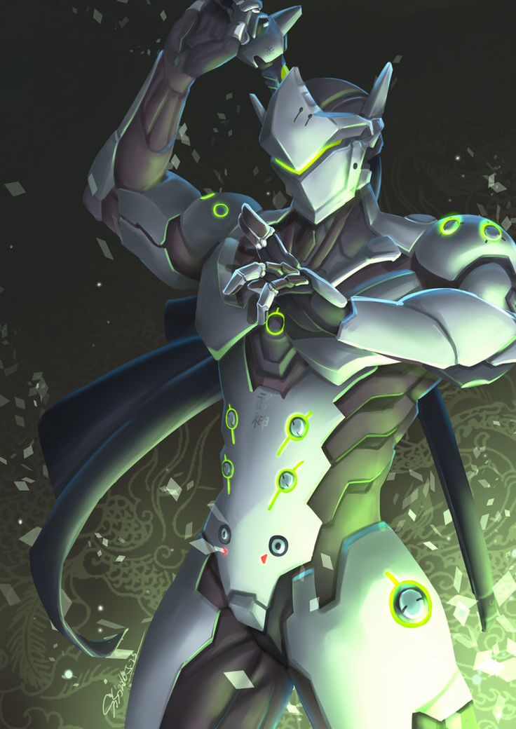 [overwatch] Genji by Mr-SO on DeviantArt
