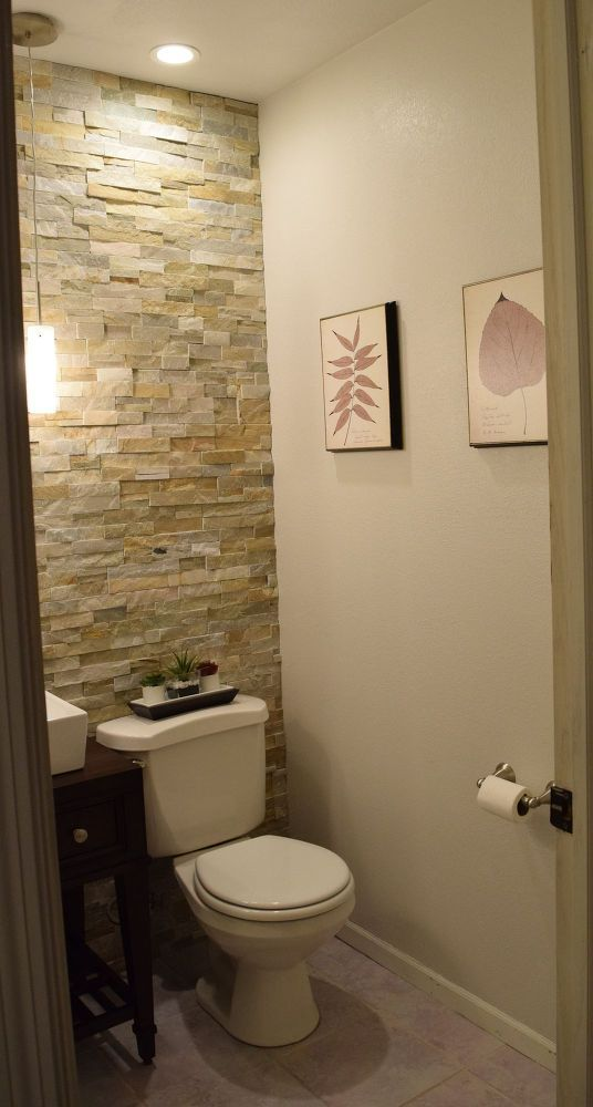 17 best ideas about half bath remodel on pinterest half for Half bathroom designs
