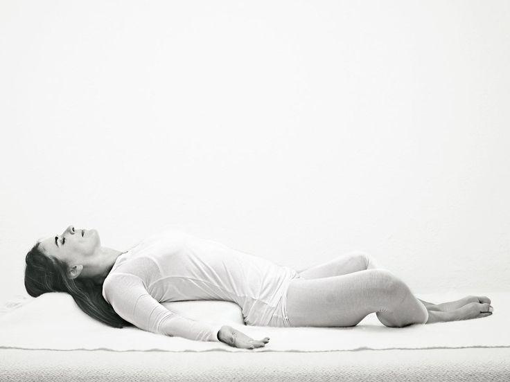 Sanfte Yoga-Übungen zum Einschlafen