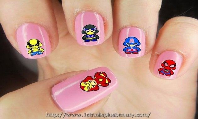 Marvel Nail Art Stickers Picture