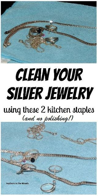 How to clean silver without harsh chemicals and no scrubbing. This simple method only takes a few minutes and is completely hands off!