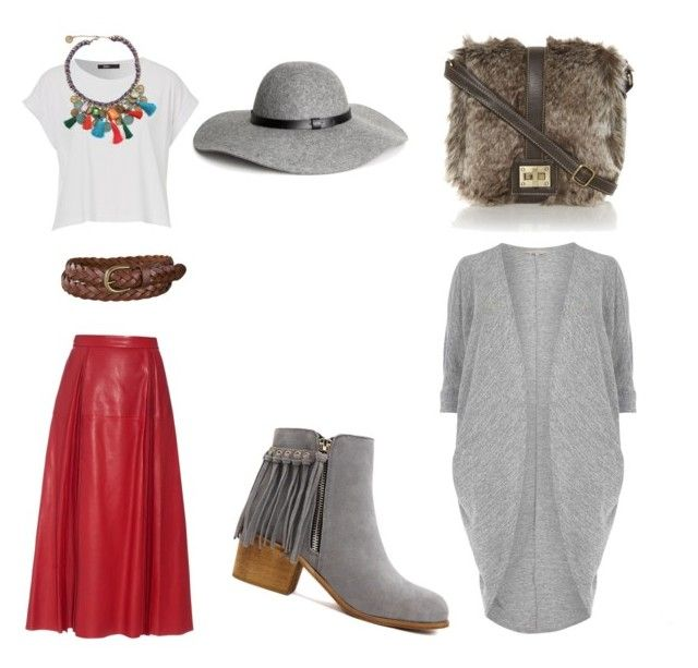 """Художница2"" by olga-lukina on Polyvore featuring Gucci, Uniqlo, H&M and Billie & Blossom"