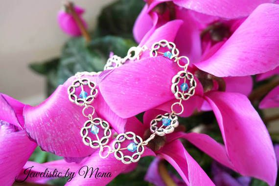 Impressively gorgeous antique style silver by JewelisticbyMona