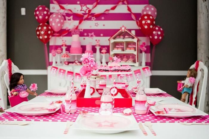 The Definitive Guide to Planning an American Girl Birthday Party! | Laurent Doll :: We've decided to do all of the legwork for you and compile a handy list of some of our favorite recipes and tutorials in one spot to aid you in your quest for AG birthday party greatness! We've rounded up some of our favorite tips, tid-bits, and tricks for invitations, decorations, food, party games, and doll activities.
