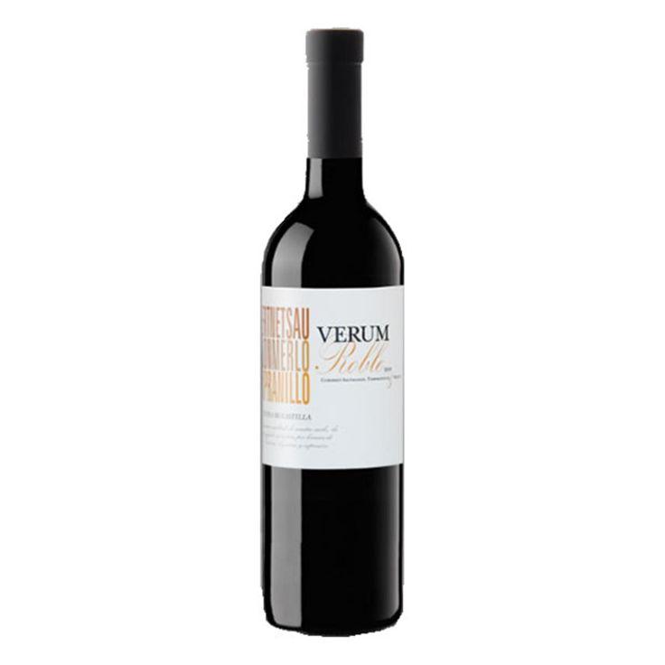 Verum tinto roble en castilla la mancha roble y vino tinto - Manchas de vino ...