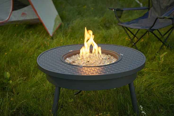 Portable Fire Pit table for those on the move!
