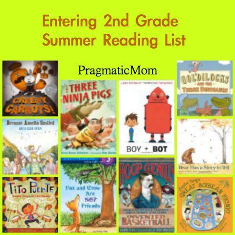 Entering 2nd grade summer reading list :: PragmaticMom