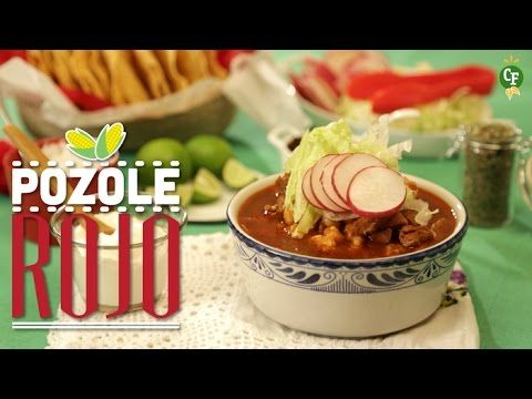 ¿Cómo preparar Pozole Rojo?-Cocina Fresca - YouTube