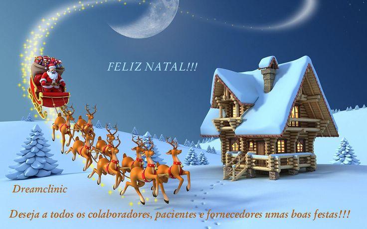A Dreamclinic deseja a todos um Feliz Natal!!!